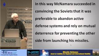 How Missile Defense Undermines Deterrence: The Israeli Case