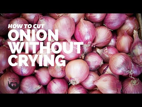 How to Cut Onion Without Crying