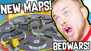 Hello Everybody! Welcome back to BEDWARS with myself and AshDubh, today we are checking out the BRAND NEW MAPS!!