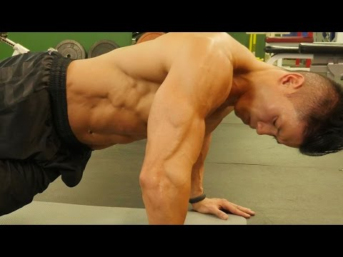 5 minute - Get crazy ripped six pack abs FAST: http://sixpackshortcuts.com/rd4t What's up guys? It's Mike Chang with sixpackshortcuts and today we're going to pump up f...