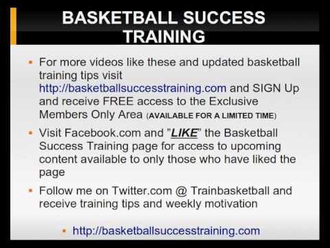 Basketball Success Training Video # 4 Finding Good Sources of Motivation
