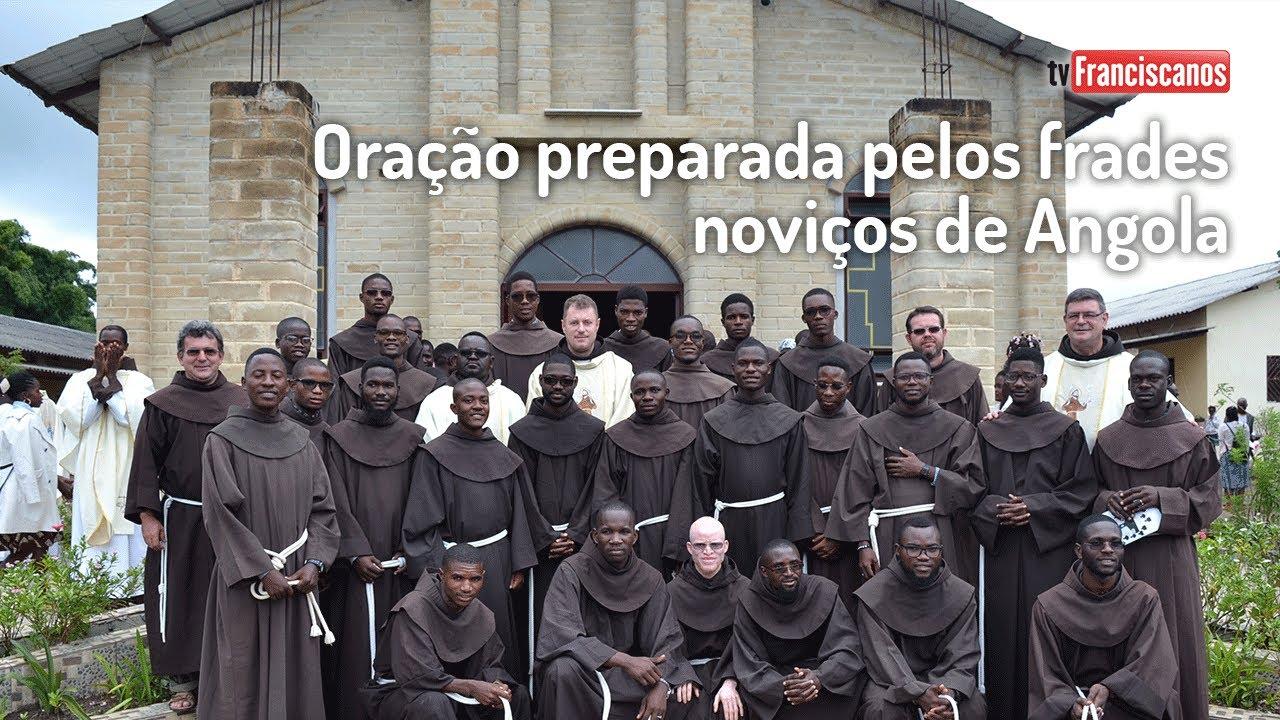 [Live Vocacional | Oração preparada pelos noviços de Angola]