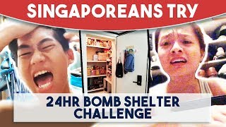 Video Singaporeans Try: 24 Hour Bomb Shelter Challenge MP3, 3GP, MP4, WEBM, AVI, FLV Februari 2019