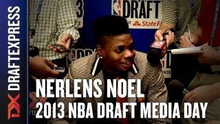 Nerlens Noel - 2013 NBA Draft Media Day Interview