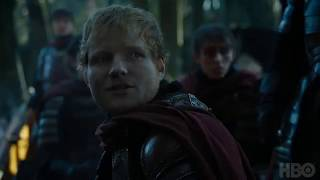 Watch Ed Sheeran on the Season 7 premiere of Game of Thrones. Game of Thrones airs on HBO on Sundays.