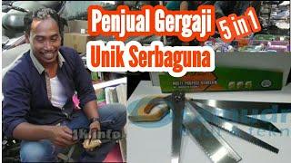 Download Video Penjual Gergaji Unik Serba Guana di Pasar Legi Kotagede Jogjakarta, MP3 3GP MP4