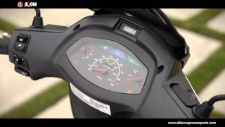 3. Official SYM HD 200 EVO Scooter Video   Distributed by Luxury-Motors