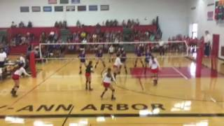Bronte Michura with the kill! thumbnail