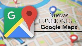 Muchos de vosotros ya las habréis visto e incluso probado, pero para todos los que aún no conozcáis las nuevas funciones de Google Maps, aquí os dejamos ...