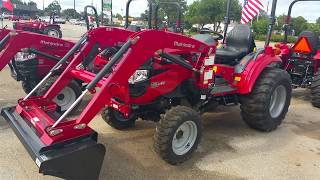 2. Mahindra 1533 HST 4w/d tractor with a loader
