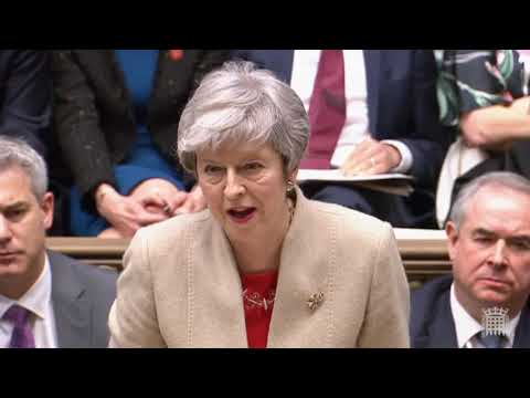"Brexit 29th March: Theresa May's ""back Me And Sack Me"" Speech, Vote For The Deal"