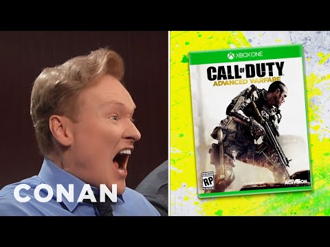 Preview - Legally, Conan can't show any gameplay footage from the new CoD yet, so here are some shots of him freaking out... More CONAN @ http://teamcoco.com/video Team Coco is the official YouTube...