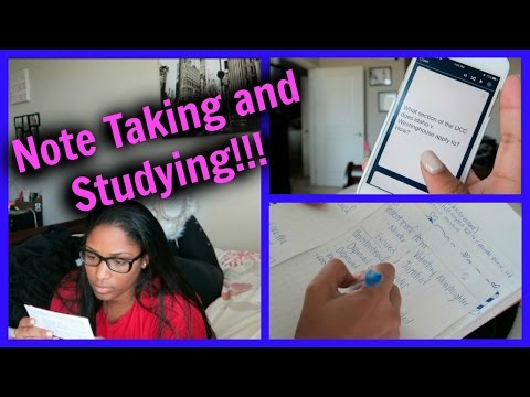 Note Taking and Study Tips!!! Law School Edition