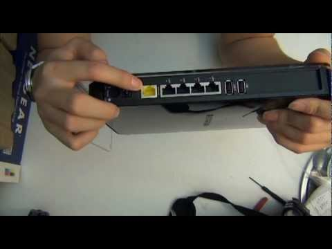 Wireless Router Teardown OpenBox NETGEAR- N900 Dual Band Gigabit (WNDR4500) Disassembly Review