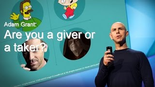 Recomendação TED Adam Grant: are you a giver or a taker?
