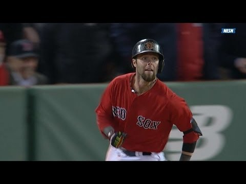 Video: Umpires confirm Pedroia's slam in the 6th