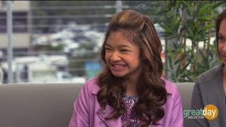 Singer Angelica Hale helps brings awareness to living organ donation