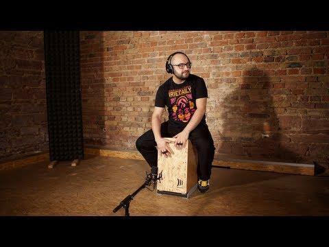 Modern Cajon Solo  /// Drum & Bass Style /// DADDI BAHMANI
