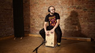 Modern Cajon Solo  /// Drum & Bass Style /// DADDI BAHMANI Video