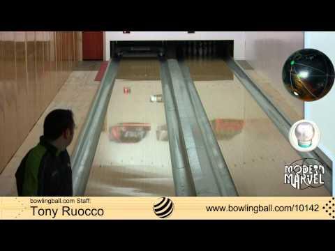 Storm Modern Marvel Bowling Ball Reaction Video by bowlingball.com