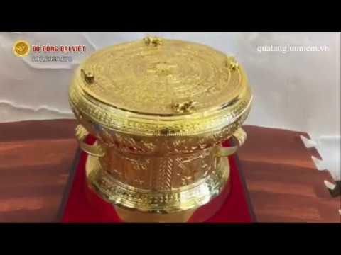 Trống đồng quà tặng đẹp và chất lượng tại Hà Nội.