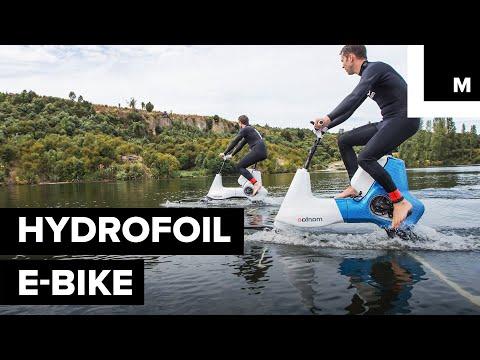 Ensi kesän menopeli? Electric Water Bike