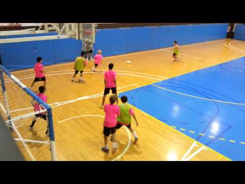 Barca Futsal Training