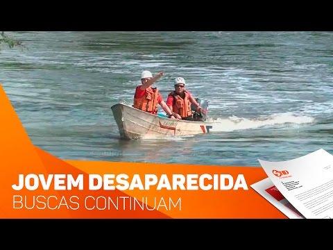 3º dia de buscas a jovem desaparecida em Itu - TV SOROCABA/SBT