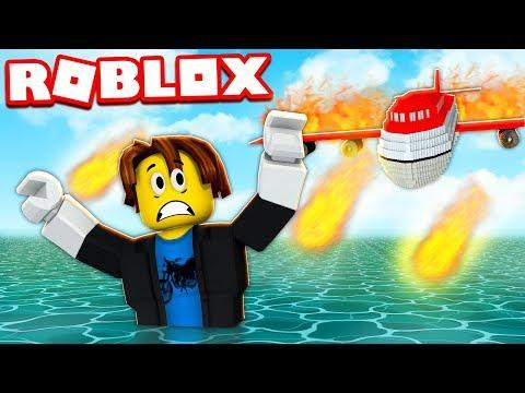 Survivre au Crash d'un Avion ! Roblox