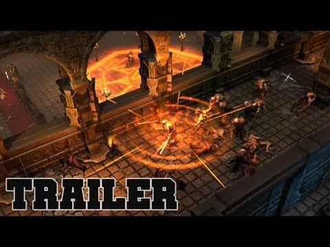 трейлер R.A.W. - RAW Realms of Ancient War - Проклятье древних королей (CD-Key, Steam, Region Free)