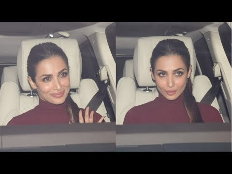 Malaika Arora  Attends Karan Johar's Christmas Party