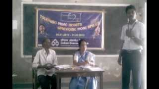 Kanadukathan India  city photos : IOB Kanadukathan Founders' Day Speech competition My India in 2020 first prize Navalavan.mp4