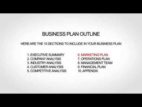 Property management business plan template