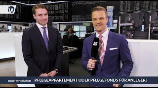 Marktgespräch Börse Frankfurt: Pflegeappartement oder Pflegefonds?