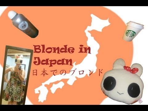 Welcome - Blonde in Japan