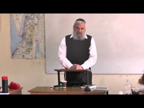 Rav Yehouda Ben Ichaï - les 39 travaux interdits le chabbat 1