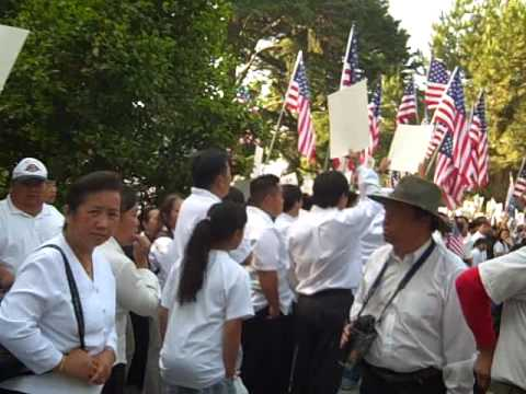 Hmong Protest