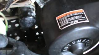 2. 2008 Polaris Sportsman 500 HO Oil Change