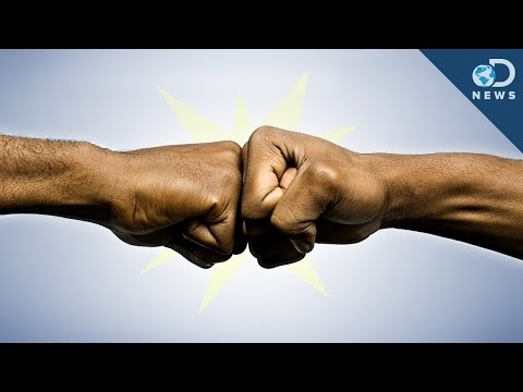Why The Fist Bump Is Better Than The Handshake 30 July 2014 01 AM