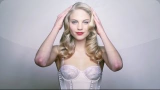 DIY Hairstyle: Pressed Waves - Martha Stewart Weddings - YouTube