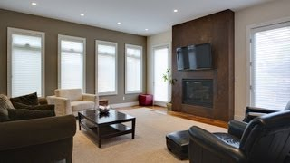 How to Decorate a Mantel with a TV | Interior Design