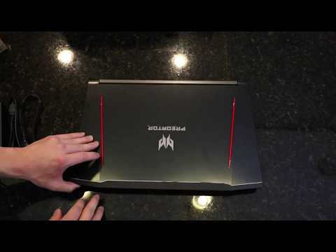 Acer Predator Helios 300 Unboxing & First Impressions - Best Value Gaming Laptop