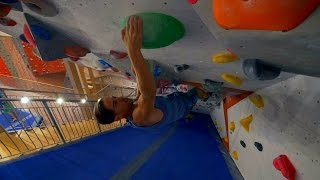 Calle Is Climbing With Us! by Eric Karlsson Bouldering