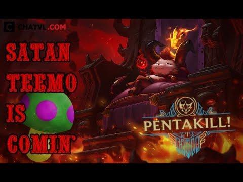 Những tình huống gây ức chế cho team bạn của Teemo