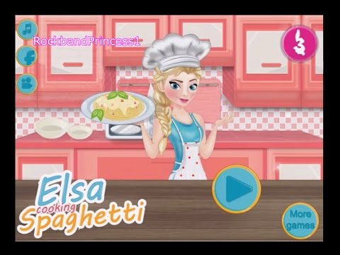 Frozen Cooking Games Free Online