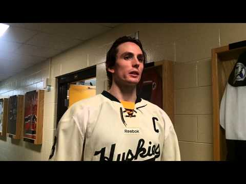 Brad Stebner Postgame Interview vs. Ferris State 1-25-14