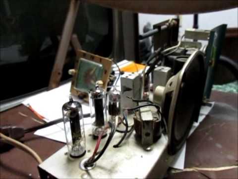 Automatic Radio Clock Radio Checkout - Early 1950's