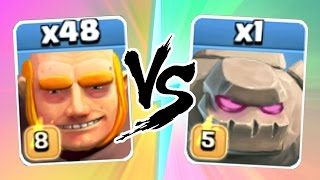 "Video Clash Of Clans - ""THE TRUTH"" - Max Level 8 Giants Vs Max Golems - New July 2016 Update Game Play! MP3, 3GP, MP4, WEBM, AVI, FLV November 2017"