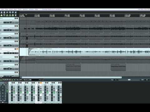 HOW TO ADD EFFECTS TO PART OF A TRACK IN REAPER DAW
