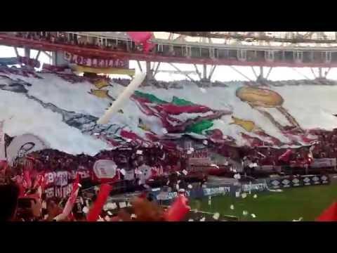 Estudiantes vs gimnasia 13/03/16. Recibimiento. - Los Leales - Estudiantes de La Plata
